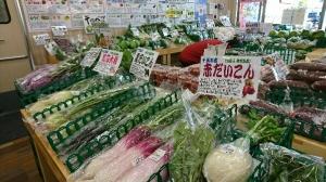 野菜一つ一つに野菜の豆知識手作りPOPも付けてま~す!